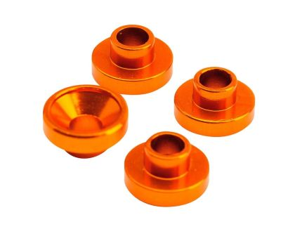 TeamC Servohalterungshülsen 4.3mm orange