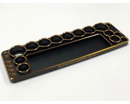 ARROWMAX Tools Base For 1/10 Cars Black Golden