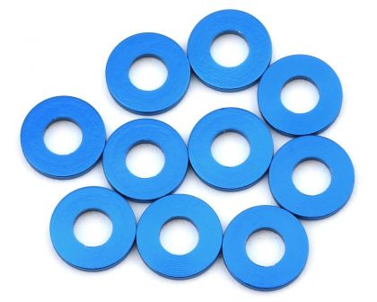 Team Associated Washers 7.8x3.5x1.0mm blau Alu