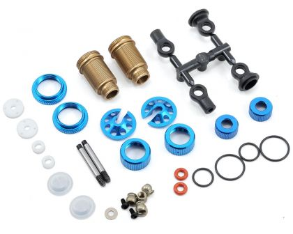 Team Associated FT FOX Shock Kit with Genuine Kashima Coat threaded