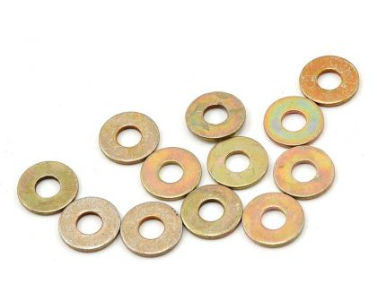 Team Associated Washers 4 steel