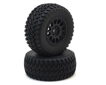 Team Associated Multi-terrain Tires and Method Wheels mounted