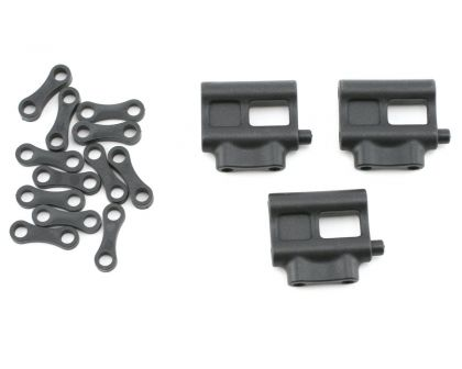 Team Associated Servo Mount and Spacers