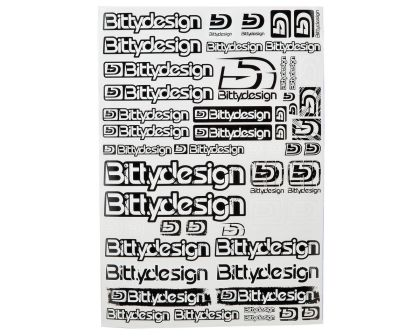 Bittydesign Big Decal Sheet 21.5x30.5cm