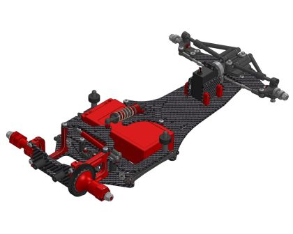 CRC WTF-1-FC16 Formel-Chassis