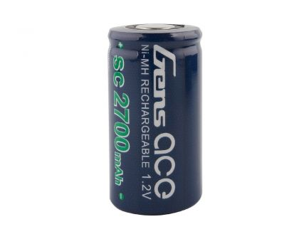 Gens Ace NiMh 1.2V SC2700mAh loose Cell