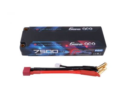 Gens Ace Pack LiPo HV 2S 7.6V 7500 100C 4mm