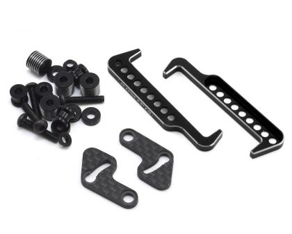 JConcepts B6 Swing Operated Battery Retainer Set schwarz