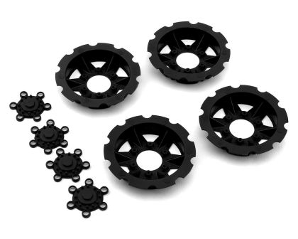 JConcepts Tracker wheel discs black