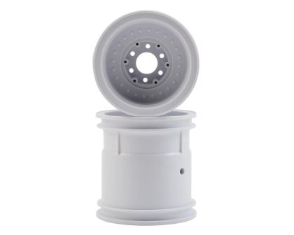 JConcepts Midwest 2.2 MT 12mm hex wheel mit adaptors white