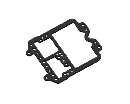 JOMUREMA JR128 R01 Carbon Upper Chassis Plate PRO 1.5mm