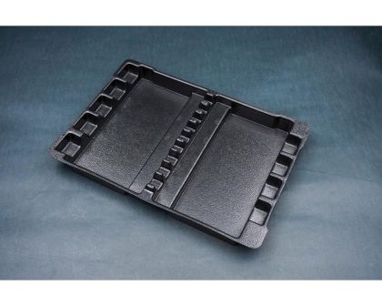 Koswork Tool Tray 245x175x22mm Black