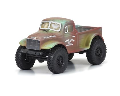 ProLine 1946 Dodge Power Wagon Karosserie für SCX24 JLU