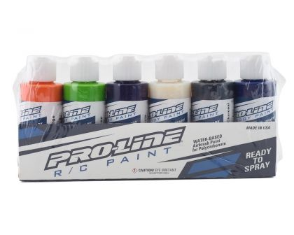 ProLine RC Body Paint Secondary Color Set 6 Pack