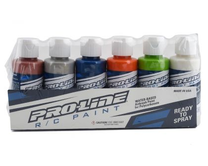 ProLine RC Body Paint Metallic Pearl Color Set 6 Pack