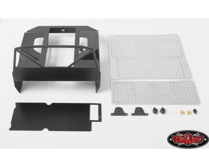 RC4WD Conversion Package Metal Rear Bed and Interior Package Style A