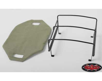RC4WD Bed Soft Top Cage for RC4WD Mojave II Four Door Green