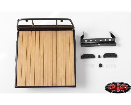 RC4WD Wood Flatbed for Mojave II Four Door Body Set