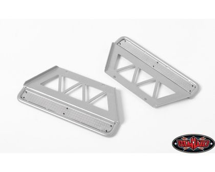RC4WD Trifecta Side Sliders for Land Cruiser LC70 Body Silver