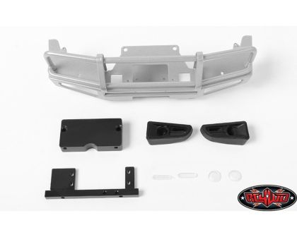 RC4WD Trifecta Front Bumper for Mojave II 2/4 Door Body Set Silver