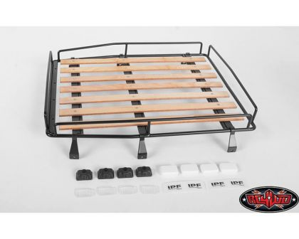 RC4WD Wood Roof Rack Lights for RC4WD Cruiser Body