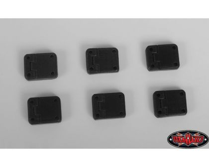 RC4WD Rubber Door Hinges for Traxxas TRX-4