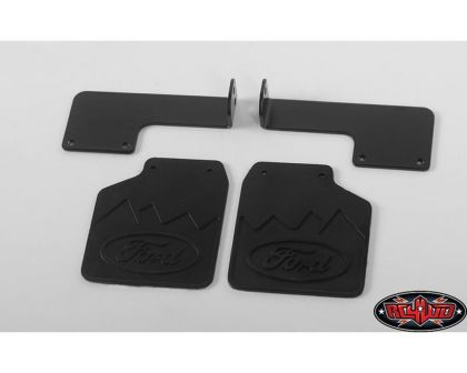 RC4WD Rear Mud Flaps for Traxxas TRX-4 79 Bronco Ranger XLT