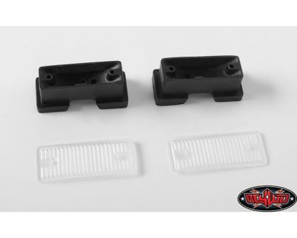 RC4WD Front Grille Fog Lamps for Traxxas TRX-4 79 Bronco Ranger XLT