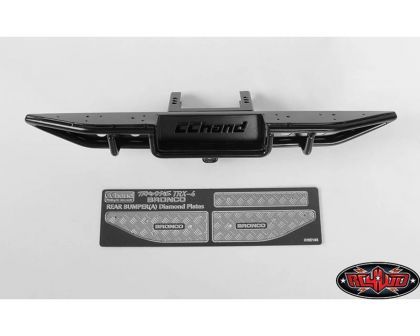 RC4WD Ranch Rear Step Bumper for Traxxas TRX-4 79 Bronco Ranger