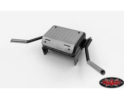 RC4WD Fuel Tank Dual Exhaust for Traxxas TRX-4 79 Bronco Ranger