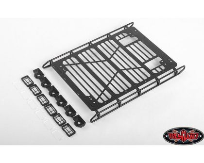 RC4WD Adventure Roof Rack Front and Rear Lights for Traxxas TRX Mercedes-Benz G-500