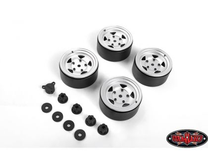 RC4WD Seren 2.2 Beadlock Wheels Center Caps Silver