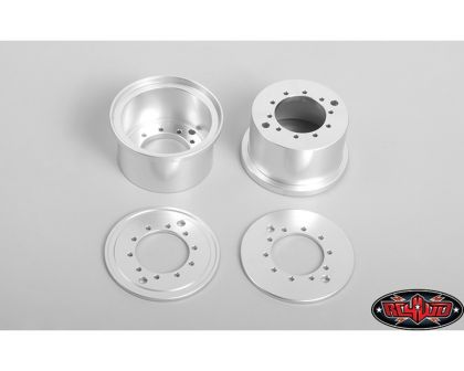 RC4WD 1.7 Aluminum Rear Beadlock Wheels for Overland Truck