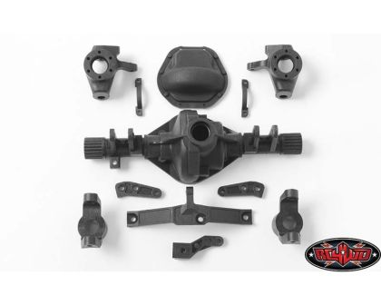 RC4WD D44 Plastic Front Axle Replacement Parts