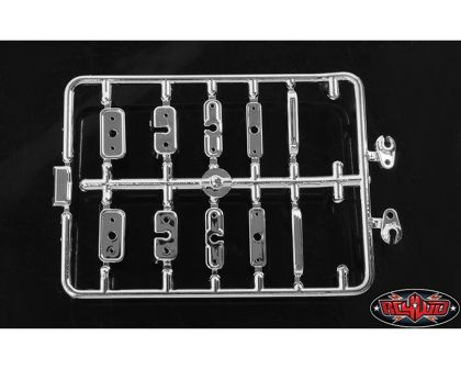 RC4WD Chevrolet Blazer Chrome Handles and LED Holder Parts Tree