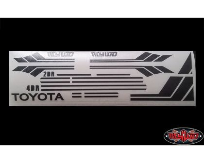 RC4WD Clean Stripes Vinyl Graphic Decal for Mojave II