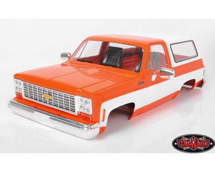 RC4WD Chevrolet Blazer Hard Body Complete Set orange RC4WD