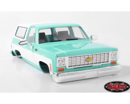 RC4WD Chevrolet Blazer Hard Body Complete Set Teal