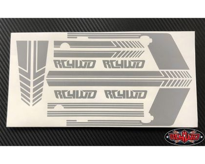 RC4WD Clean Stripes for D110 Decal Sheet Grey