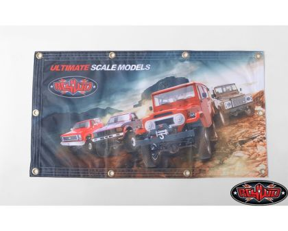 RC4WD 1x2 Cloth Banner