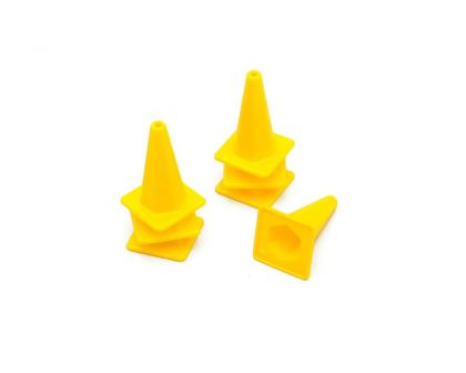 RC4WD 1/10 Scale Traffic Cone Yellow