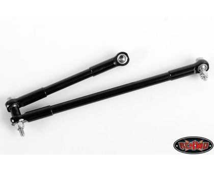 RC4WD Front Steering Links for D35 and K44 Axles Black