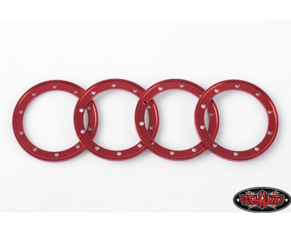 RC4WD Red 1.9 Universal Beadlock Rings
