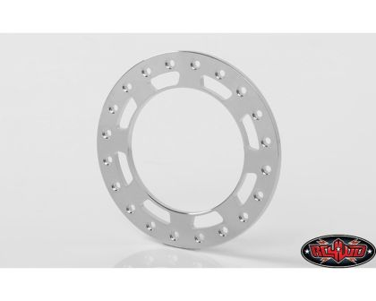 RC4WD Replacement Beadlock Rings for TRO 1.7 Wheels Chrome