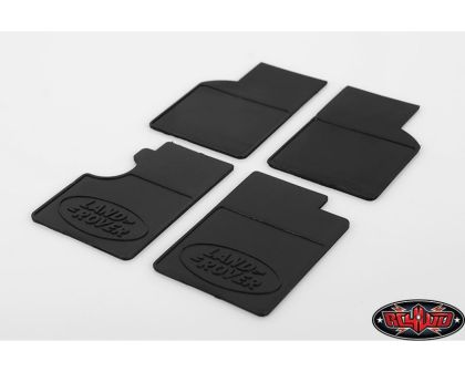 RC4WD Land Rover Mud Flaps for Gelande II D90/D110