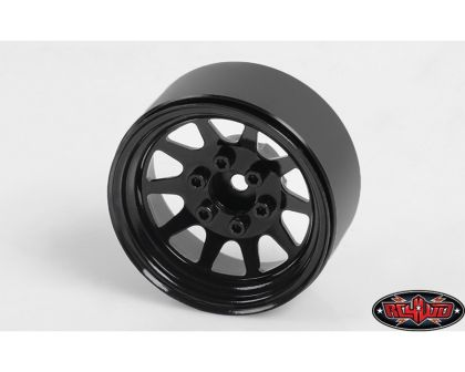 RC4WD OEM Stamped Steel 1.9 Beadlock Wheels Black