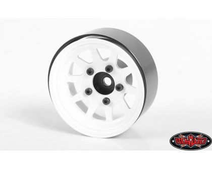 RC4WD OEM Stamped Steel 1.55 Beadlock Wheels White