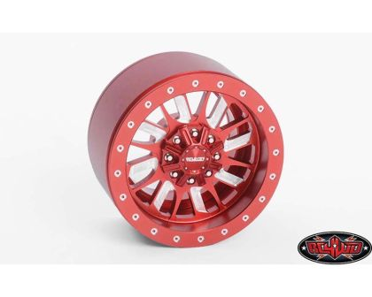 RC4WD Enforcer 1.9 Beadlock Wheels Red