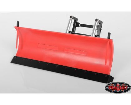 RC4WD Super Duty Blade Snow Plow Red