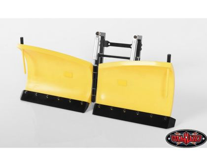 RC4WD Super Duty V Snow Plow Yellow